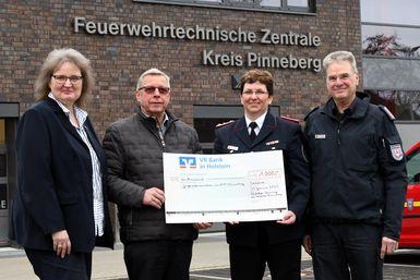 von links: Claudia Mohr, Heinfried Torst, Gerlinde Langeloh und Frank Homrich. Foto: Bunk